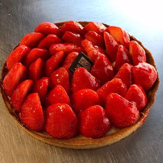 Afbeelding van Tarte aux fraises 6p.